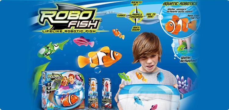 nouveautés robot fish acheter