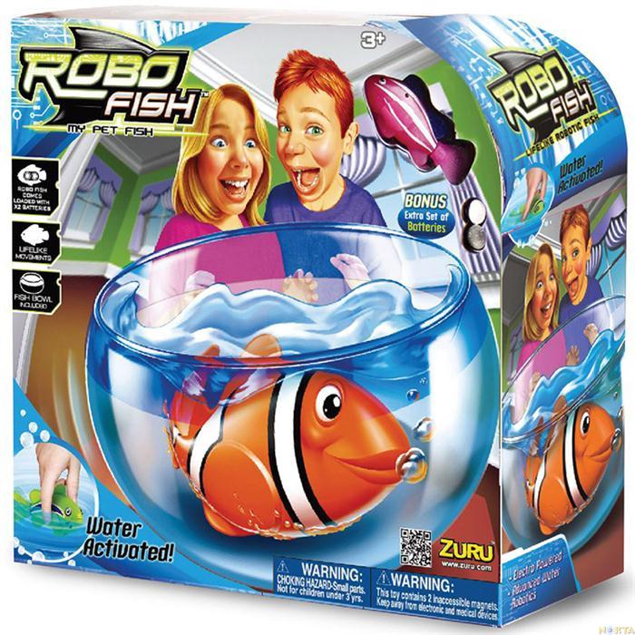 Robo fish Zuru, un aquarium avec des poissons jouets robots ?