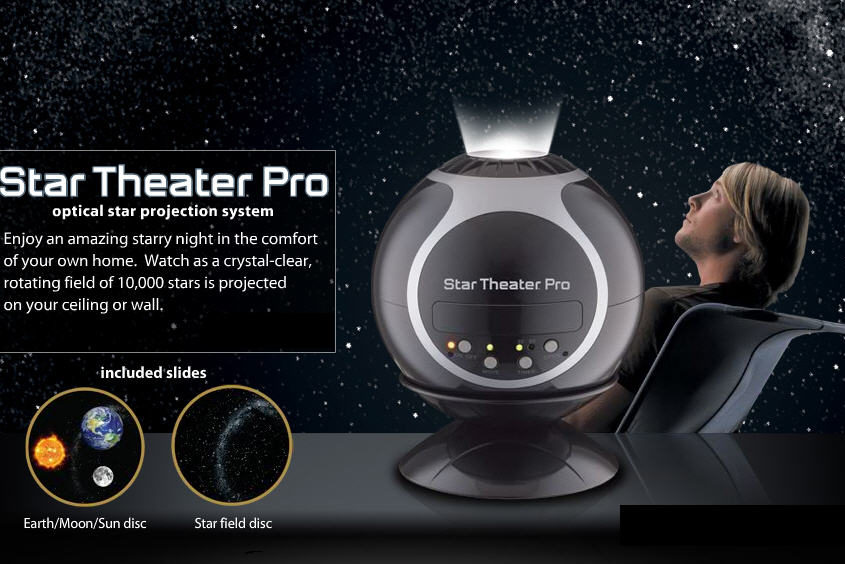 Star Theater Pro S Offrir Le Ciel Etoile Dans Son Salon Planetarium Personnel