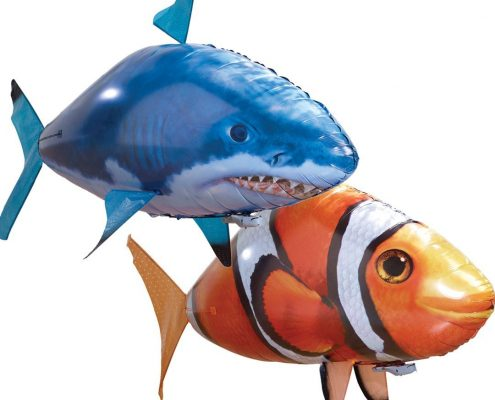 poisson telecommande air swimmer