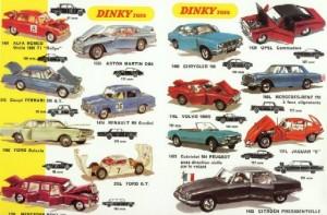 catalogues de jouets voitures miniatures