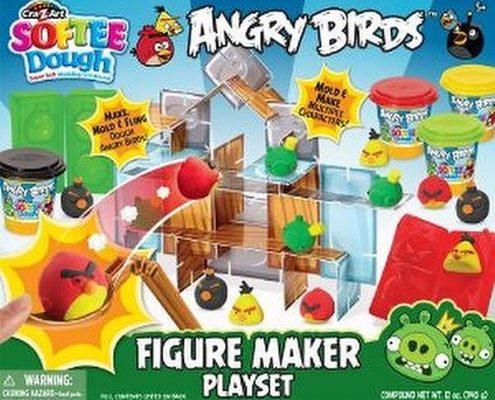 angry birds softee dough
