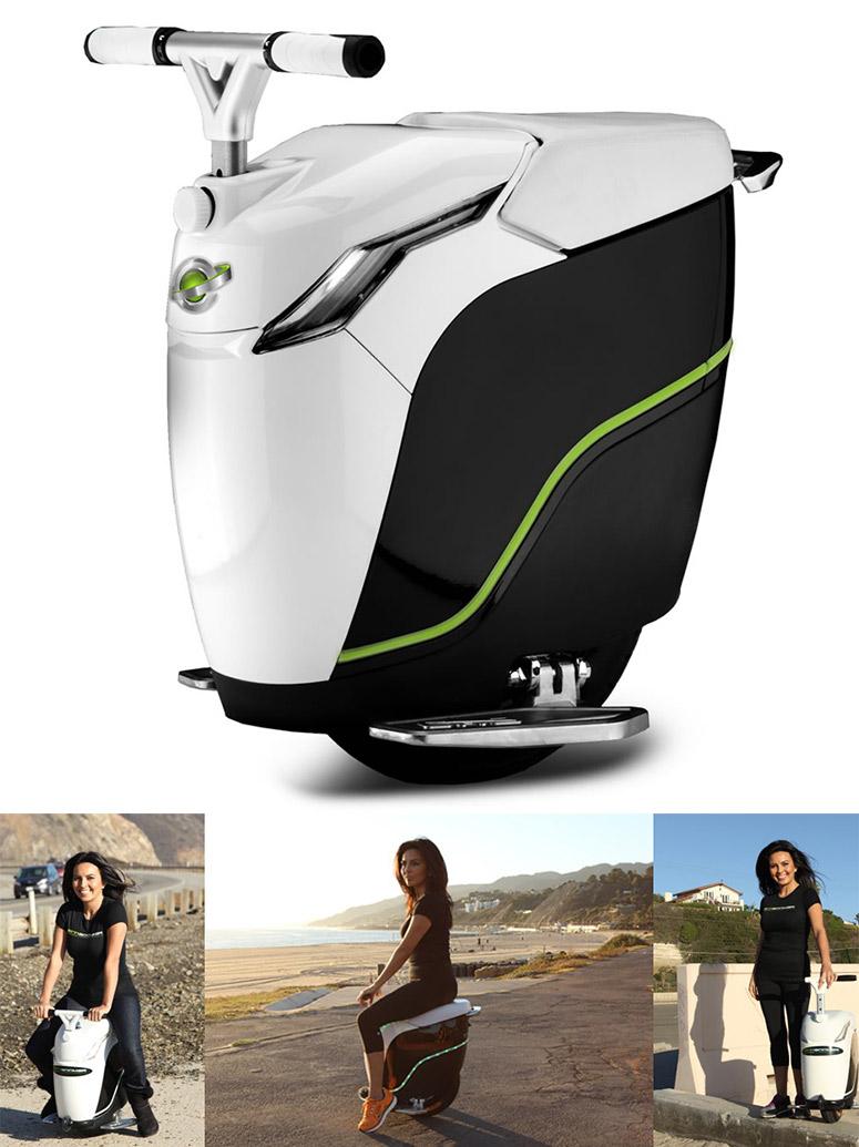 EcoBoomer iGo monocycle, le scooter éléctrique à une seule roue !