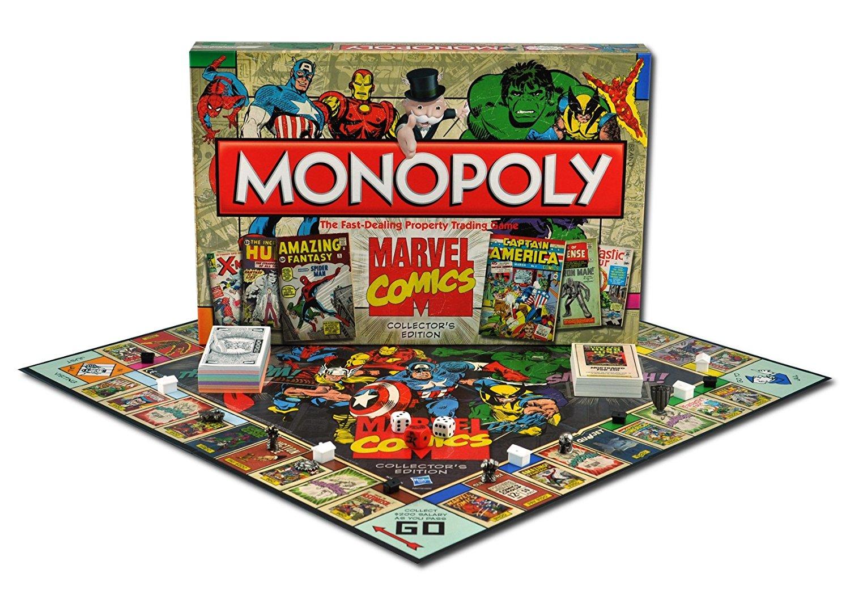 Editions Monopoly collector, Marvel Comics, Beatles, Little Poney et plus