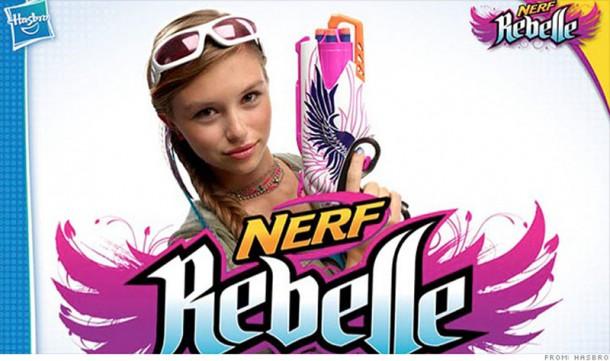 jouets Noël 2013 Nerf Rebelle