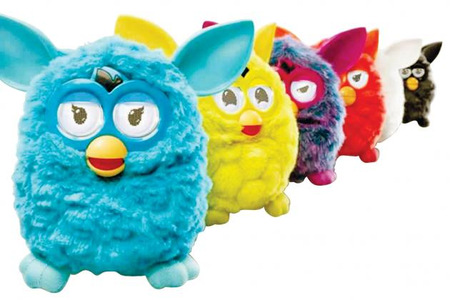 furby jouet peluche interactif application mobile