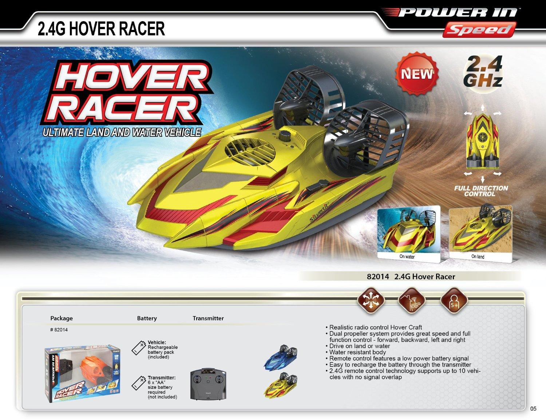 hover racer bateau hydroglisseur t l command sur terre comme sur eau. Black Bedroom Furniture Sets. Home Design Ideas