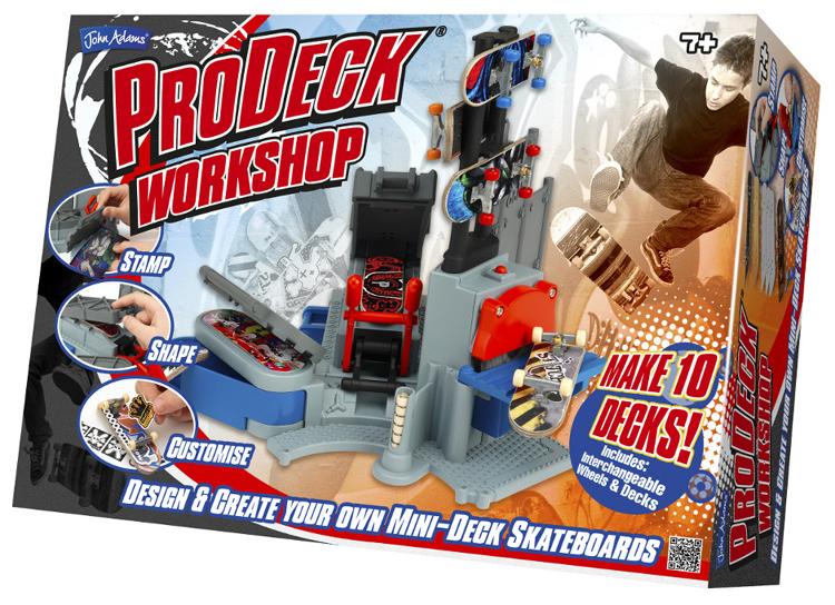 Pro deck, un atelier complet pour créer et personnaliser des mini skates