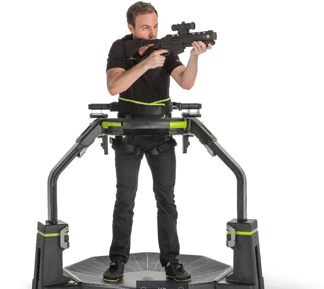 Virtuix Omni Move Innovation VR, la réalité virtuelle plus que réelle