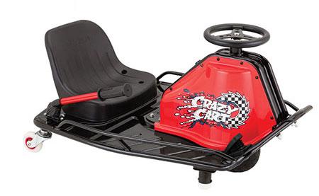 Razor Crazy Cart, le jouet kart motorisé complètement dingue