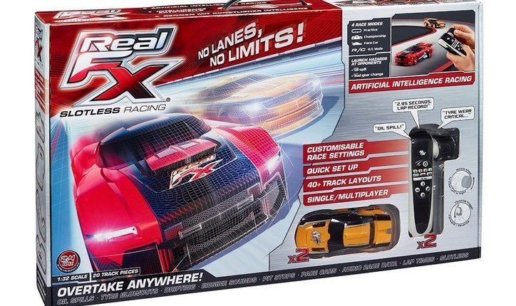 Real Fx Racing System Un Circuit Video De Course De Voitures Au Sol