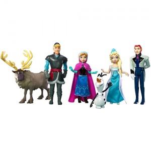 Set de mini figurines personnages La reine des Neiges: Acheter en ligne sur