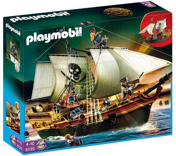 bateau pirates playmobil le pr f r des enfants. Black Bedroom Furniture Sets. Home Design Ideas
