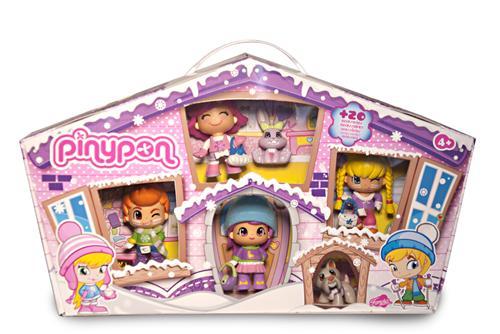 Pinypon Neige, les minis poupées, jouet populaire