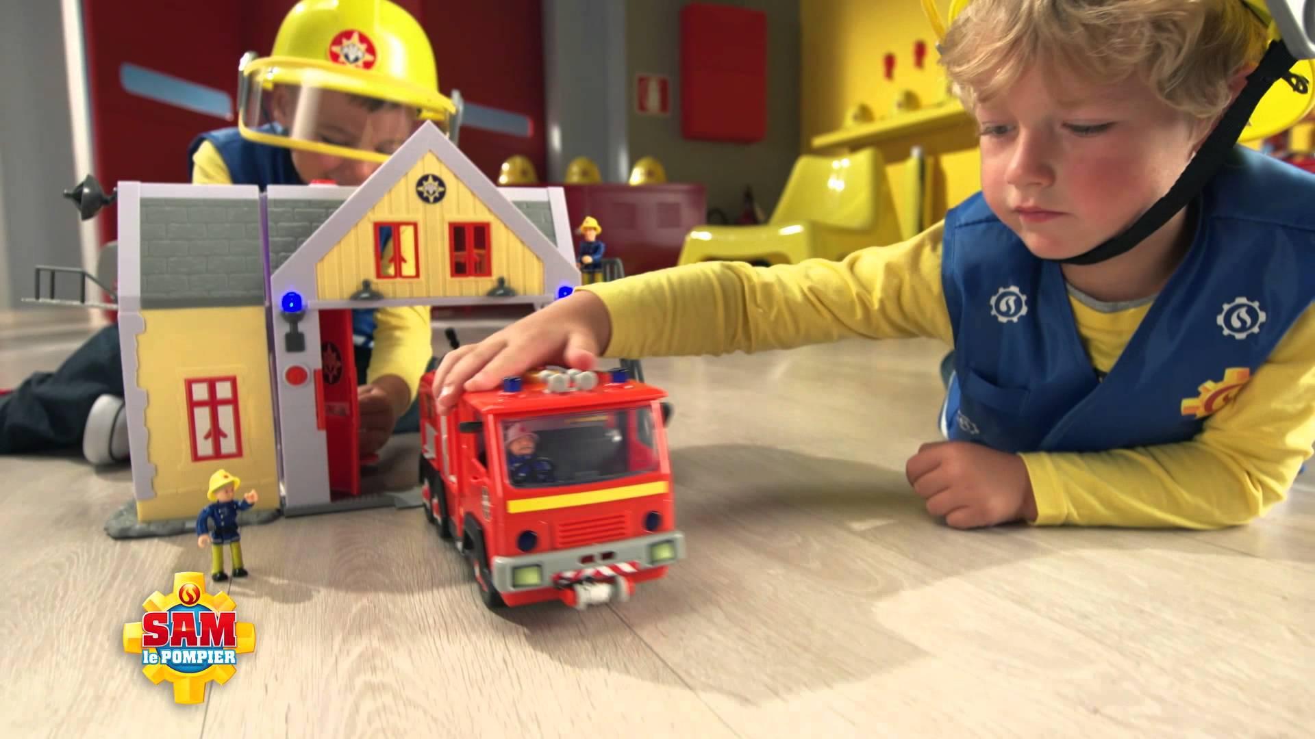 Jouets sam le pompier nouveaut s et avis jouets club jouet - Sam le pompier noel ...