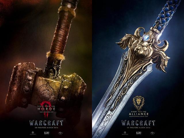 Jouet film warcraft : la lutte commence