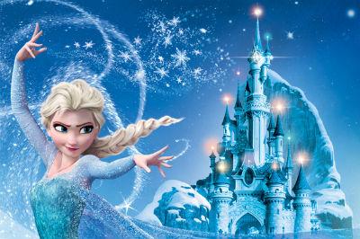 jouet chateau reine des neiges