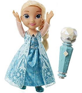 Poupée chante avec Elsa Reine des Neiges