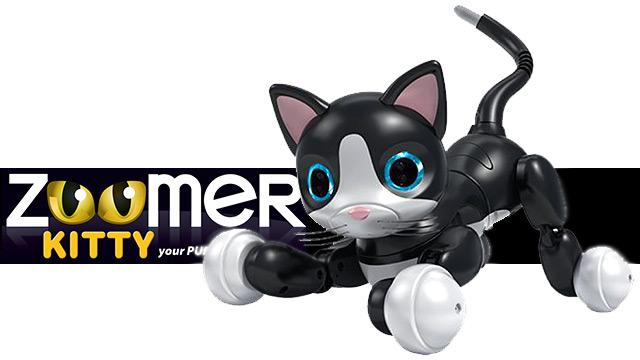 Jouet Zoomer Kitty, un robot jouet trop mignon