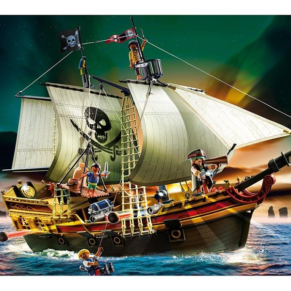 Bateau pirates Playmobil, le préféré des enfants