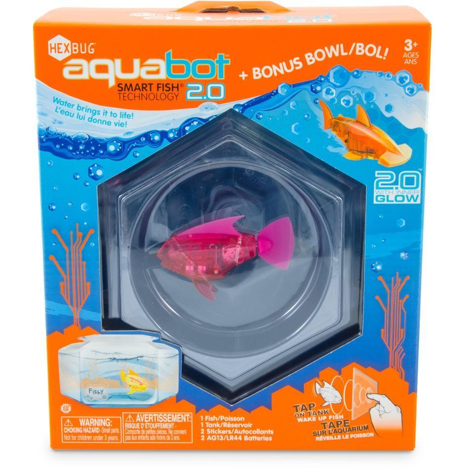 Aquabot, le poisson requin robot éléctronique, un must dans l'aquarium
