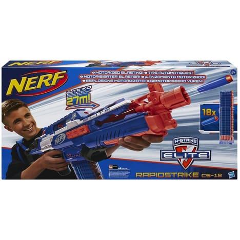 Pistolets Nerf Rapidstrike CS 18, le fusil electronique nouvelle génération