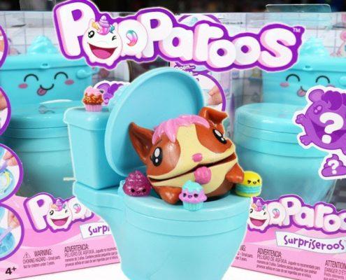 unpack pooparoos club jouet