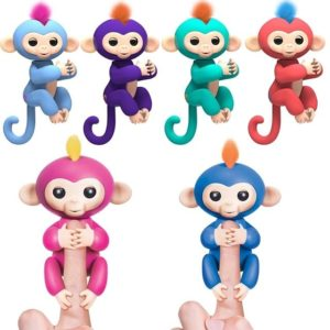 woowee fingerlings singe qui s'accroche au doigt