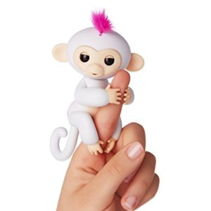 fingerling sophie singe blanc et rose