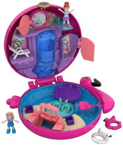 coffret univers flamant rose polly pocket 2018