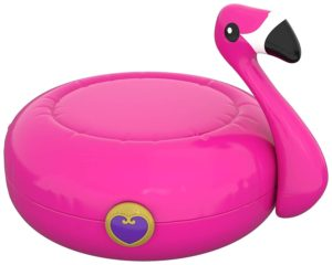 polly pocket 2018 la piscine du flamant rose fermé