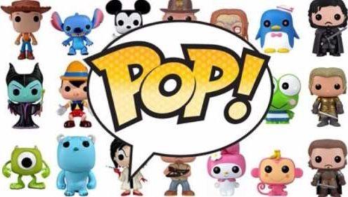 logo marque de figurine pop !