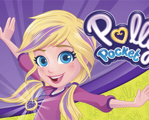 affiche polly pocket