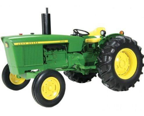 tracteur jouet vert