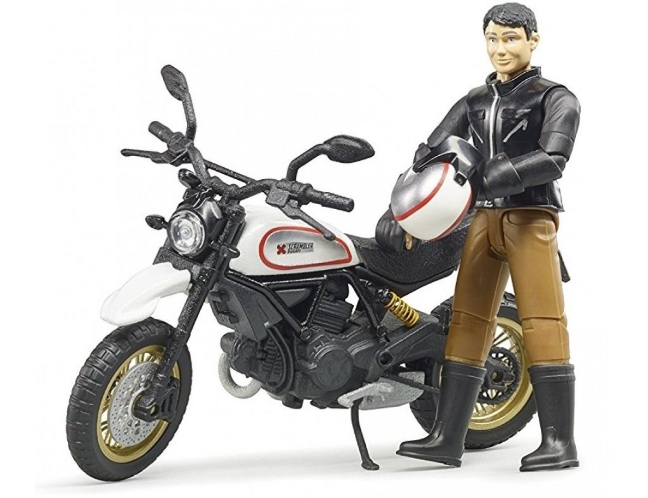 La passion pour les motos se vit aussi en miniature !