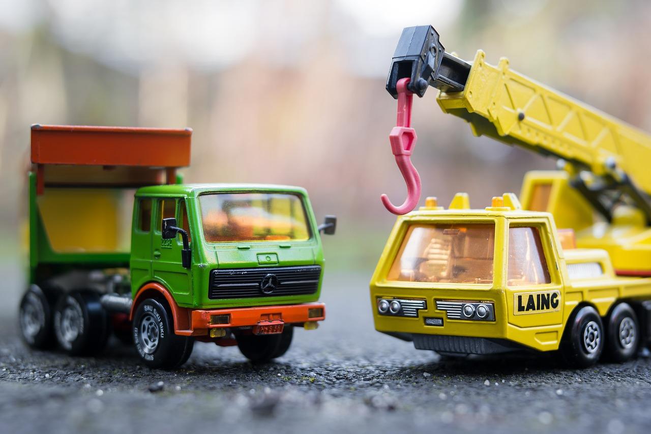 Camions miniatures, des jouets populaires et indémodables
